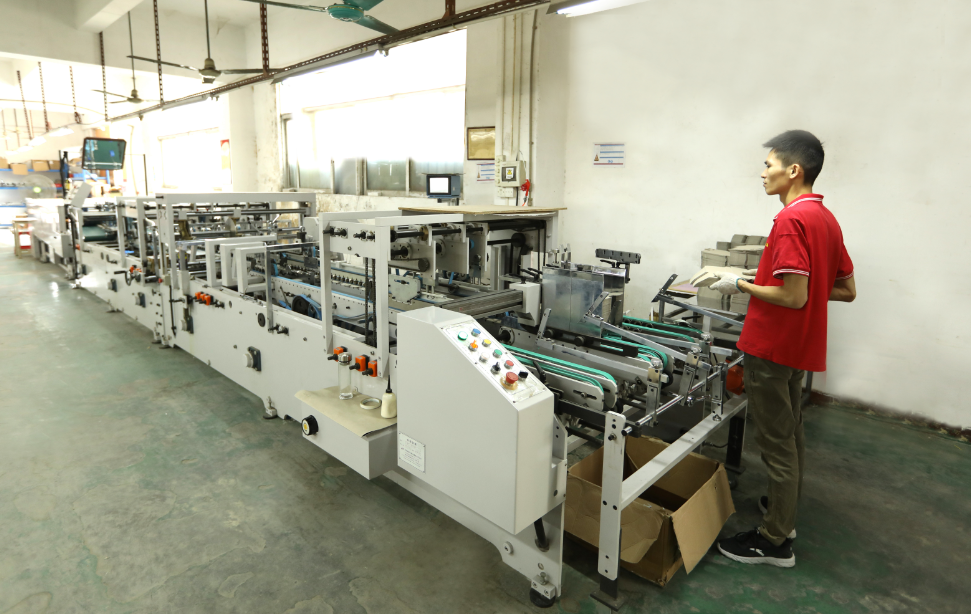 Fully automatic stickbox machine